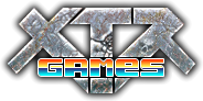 XTR Games logo, free online games developer, HTML5 games without flash player